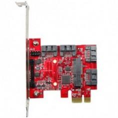 PCI Express 2.0 SATA III SATA 7pin x 4, mSATA x 1 : ESPS-3401