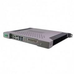 "Intel Skylake 1U fanless 19"" rackmount Intel i7-6700TE : ROC249A"