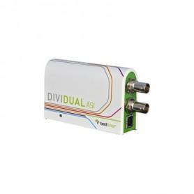 Analyseur Baseband DV3T/DV3T2/DV3C/DV3C2 : Dividual ASI