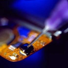 Résine UV : encapsulation en micro-électronique