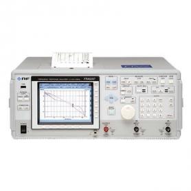 Analyseur de réponse en fréquence : 10 Mhz et 15 Mhz
