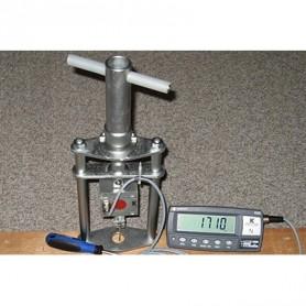 Capteur de force pour mesurer la force d'arrachement des vis sur bois
