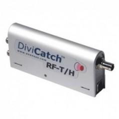 Récepteur et analyseur temps réel DVB-T et DVB-H : DiviCatch RF-T/H