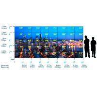 Mur d'image en fibre optique