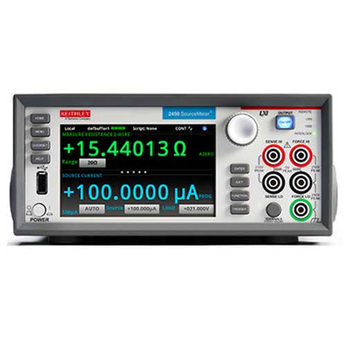 Sourcemeter SMU tactile DC 4 quadrants 20W (1A) : 2450 -> KEITHLEY