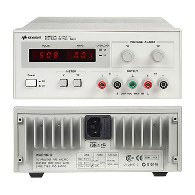 Alimentation double 230VAC - 2 X 25V/1A - 50W : E3620A -> KEYSIGHT TECHNOLOGIES