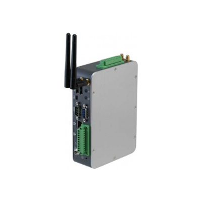 Din-Rail Mounted Embedded IoT Gateway Intel Quark SoC X1000 Series : AIOT-QA