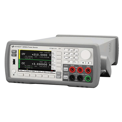 Sourcemeter faible bruit bipolaire 6.5 digit 1 ou 2 voies : B2961A / B2962A -> KEYSIGHT TECHNOLOGIES