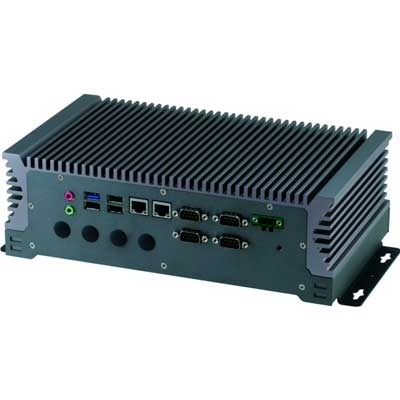 In-Vehicle Box PC Intel Atom E3845, 1.91 GHz : BOXER-6313