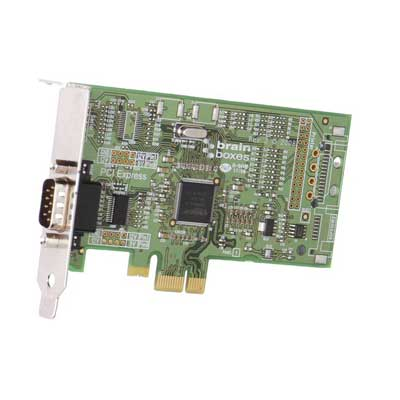 Carte PCI Express 1 Port Velocity RS232 : PX-235 / PX-246 -> BRAINBOXES