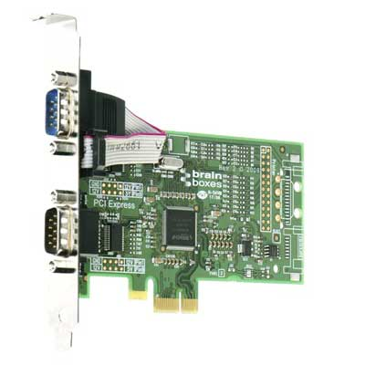 Carte PCI Express DUAL RS232 : PX-257 -> BRAINBOXES