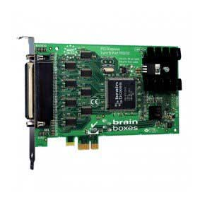 Carte PCI Express 8 Ports Velocity RS232 (8 x 9 broches) : PX-275 -> BRAINBOXES