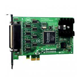 Carte PCI Express 8 Ports Velocity RS232 (8 x 25 broches) : PX-279 -> BRAINBOXES