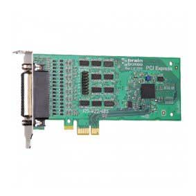 Carte PCI Express Low Profile 4xRS422/485 (4x9 pin) : PX-335 -> BRAINBOXES