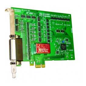 Carte Série PCI Express 4 Ports RS-422/485 avec Opto Isolation :PX-368 -> BRAINBOXES