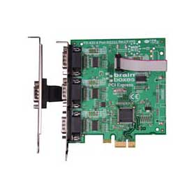Carte PCI Express 3+1 Ports RS232 : PX-420 -> BRAINBOXES