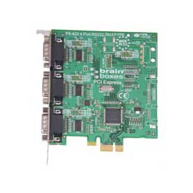 Carte PCI Express 3 Ports RS232 : PX-431 -> BRAINBOXES