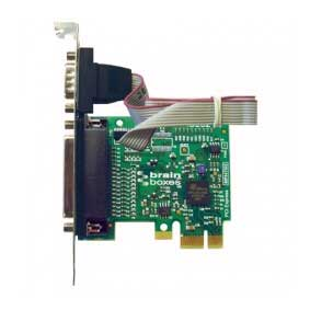 Carte S�rie PCI Express 1 Port RS-232 avec Port Imprimante Parall�le LPT : PX-475 -> BRAINBOXES