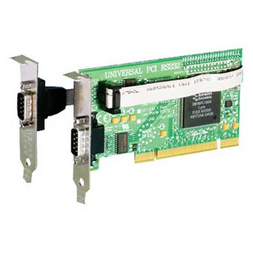 UNIVERSAL LOW PROFILE 1 + 1 PORT RS232 : UC-101