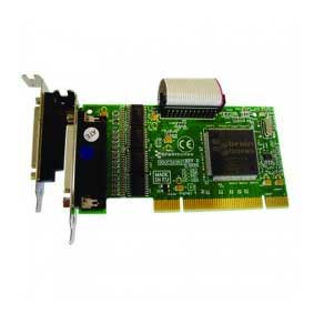 Carte S�rie PCI Low Profile 4 x RS-232 avec un Port Parall�le LPT pour Imprimante : UC-263 -> BRAINBOXES