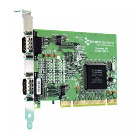 CARTE UNIVERSELLE DUAL VELOCITY RS232 : UC-302 -> BRAINBOXES