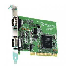 CARTE UNIVERSELLE DUAL VELOCITY RS422/485 & RS232 : UC-357 -> BRAINBOXES