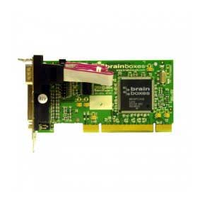 Carte Série PCI low profile 1 Port RS-232 avec Port Imprimante Parallèle LPT : UC-464 -> BRAINBOXES