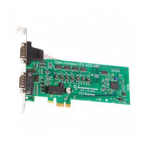 Carte PCI Express 2 Ports RS422/485 Opto isolé : PX-310 -> BRAINBOXES