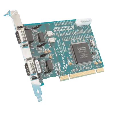CARTE UNIVERSELLE POWERED DUAL RS232 : UP-880 -> BRAINBOXES