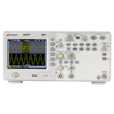 Oscilloscope Num�rique 060MHz - 2 voies : DSO1002A -> KEYSIGHT TECHNOLOGIES
