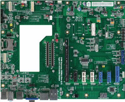 Universal Type 1/6/10 Carrier Board : ECB-920A -> AAEON