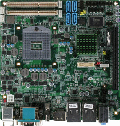 Embedded Motherboard with Intel 3rd Generation Core i7/ i5/ Celeron Quad Core/ Dual Core Processor : EMB-QM77 -> AAEON