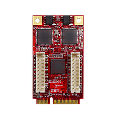 PCI Express 2.1 x 1 Isolated Dual GbE LAN RJ45 x 2 : EMPL-G201