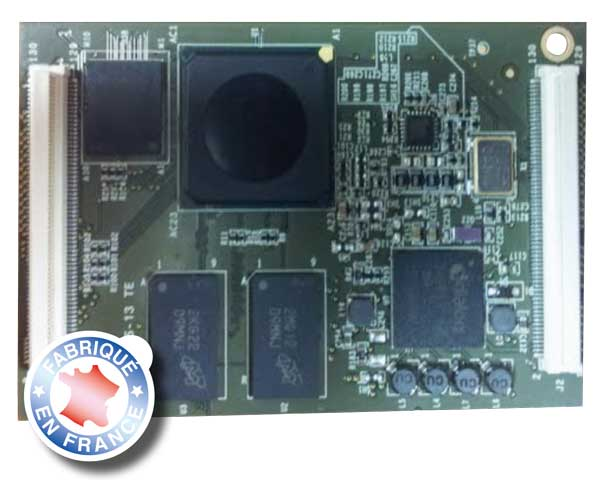 System-on-Module fabriqué en France : ESM-5053, freescale imx-53 -> ES MODULES ET SYSTEMES INFO.