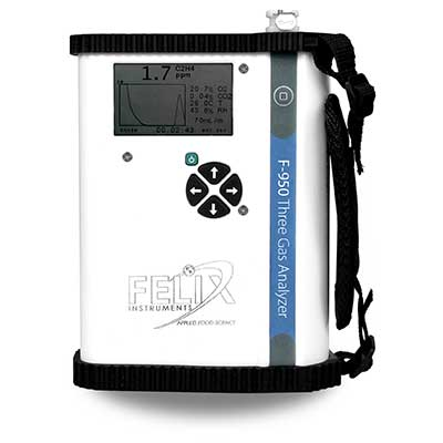 Analyseur portable �thyl�ne C2H4, CO2 et O2 : F-950 -> CID BIO-SCIENCE