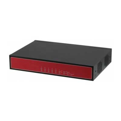 Desktop 6 LAN Ports Network Appliance Intel Atom C2000 Series SoC : FWS-2350