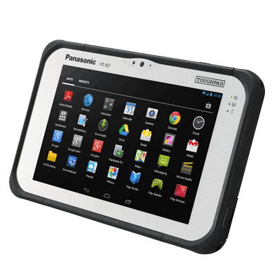 "Tablette 7"" durcie Android 4.4 Kitkat : Toughpad FZ-B2"