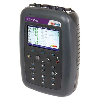 Analyseur biogaz portable : GA5000