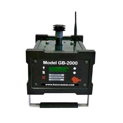 Analyseur portable multiparam�tres qualit� de l'air int�rieur : GB-2000