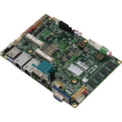 "Carte 3""1/2 Fanless CPU ATOM BAY TRAIL E3825/E3845, RAM onboard : GENE-BT06 -> AAEON"