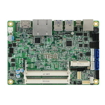 Carte 3''5 avec CPU Intel SKYLAKE i3/i5/i7 low power : IB915