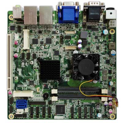 Intel Cedarview D2550 Mini-ITX Industrial MB, Wide Temp. -20 to 70�C : INS8321B -> PERFECTRON