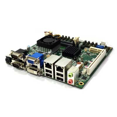 Intel Cedarview D2550 Mini-ITX Industrial MB, Wide Temp. -20 to 70°C : INS8321B