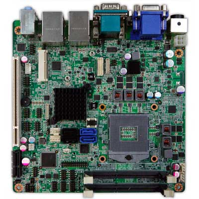 Intel Ivy Bridge QM77 Mini-ITX Industrial MB, Wide Temp. -20 to 70�C : INS8335A -> PERFECTRON