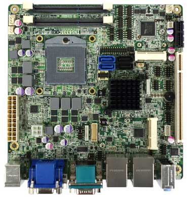 Intel Ivy Bridge QM77 Mini-ITX Industrial MB, Wide Temp. -20 to 70�C : INS8335C -> PERFECTRON