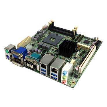 Intel Ivy Bridge QM77 Mini-ITX Industrial MB, Wide Temp. -20 to 70°C : INS8335C