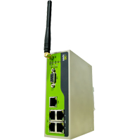 Modem 4 x Ethernet LAN / Wi-Fi / S�rie vers Ethernet WAN / HSPA+ / UMTS : InRouter 6X5 -> INHAND NETWORKS
