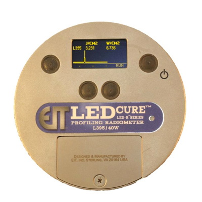 Radiom�tre UV LED R : LEDCure