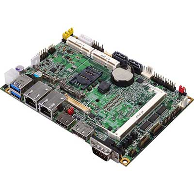 "3.5"" SubCompact Board Intel Broadwell (5th) / Haswell (4th) Core U-series : LE-37E -> COMMELL"