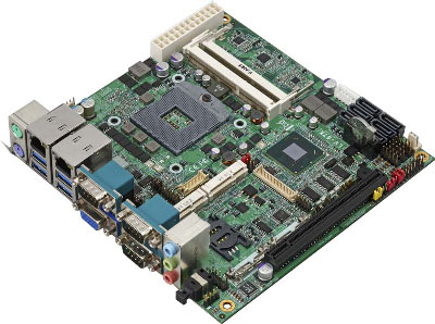 Intel Core i7 / i5 / i3  Mini-ITX Motherboard : LV-67K -> COMMELL